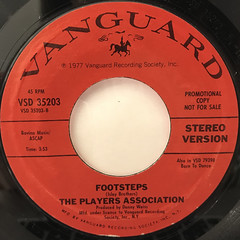 THE PLAYERS ASSOCIATION:WE WERE BORN TO DANCE(LABEL SIDE-B)