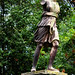 SDB14 Seaton Delaval Hall - Statue of Artemis