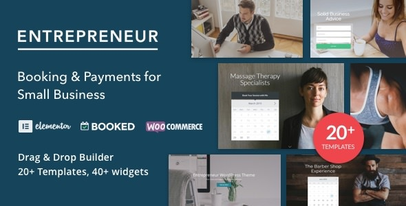 Entrepreneur v2.0.5 – Booking for Small Businesses