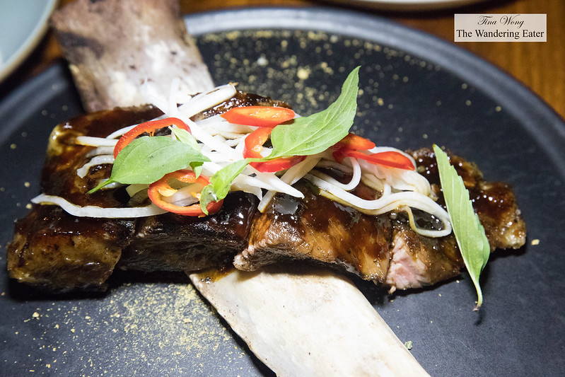 Grilled short rib, tamarind glaze