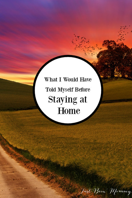 What I would have told myself before staying at home
