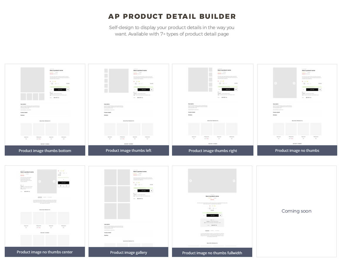 ap pagebuilder module-product list builder - clothing store