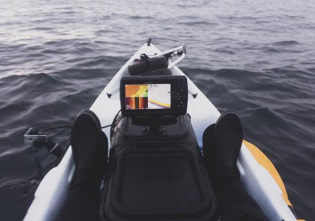 魚探設置。