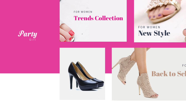 Leo Party Girl - Shoes and Fashion Prestashop 1.7 theme