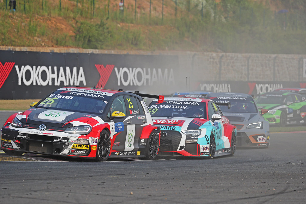 25 BENNANI Mehdi (mar), Volkswagen Golf GTI TCR team Sebastien Loeb Racing, action  during the 2018 FIA WTCR World Touring Car cup of China, at Ningbo  from September 28 to 30 - Photo Marc de Mattia / DPPI