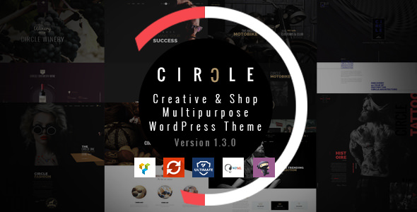 CIRCLE v1.3.7 - Creative Shop Multipurpose WordPress Theme