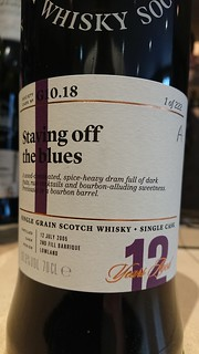 SMWS G10.18 - Staving off the blues