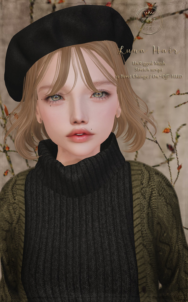 ::C'est la vie !:: Luna Hair for ✨Fifty Linden Fridays✨