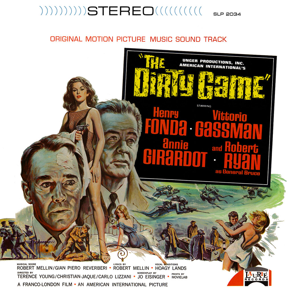 Gian Piero Reverberi and Robert Mellin - The Dirty Game