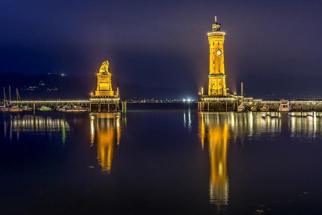 Hafeneinfahrt Lindau, Nikon D7100, Sigma 18-35mm F1.8 DC HSM