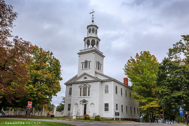 Old First Church in Bennington
