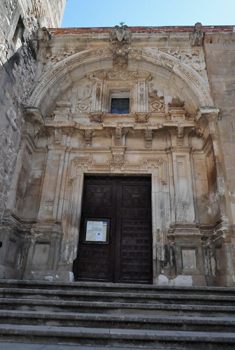 Jadraque (Guadalajara-España). Iglesia. Portada