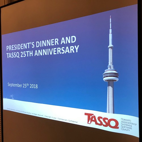 TASSQ 2018 President's Dinner | by SQR Lab