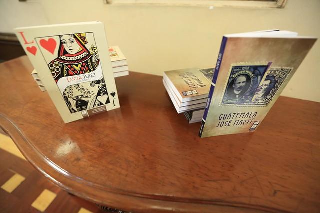"""Editorial Cultura rinde tributo a José Martí con ediciones de sus libros """"Lucía Jerez"""" y """"Guatemala"""""""