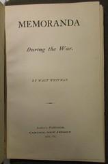 Penn Libraries 811W 1875: Title page