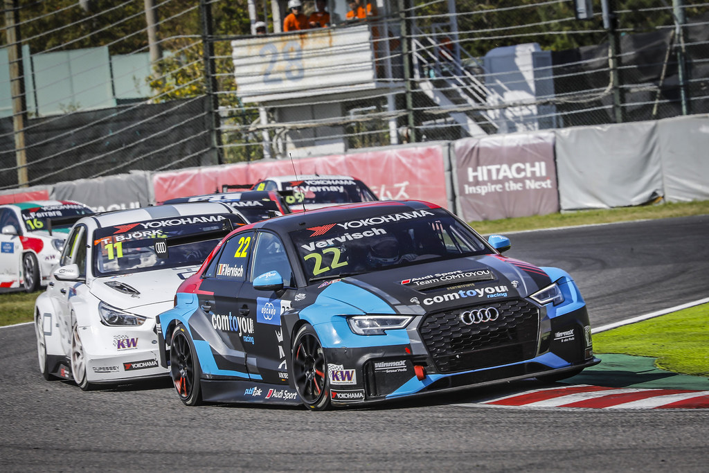 22 VERVISCH Frederic, (bel), Audi RS3 LMS TCR team Comtoyou Racing, action during the 2018 FIA WTCR World Touring Car cup of Japan, at Suzuka from october 26 to 28 - Photo Francois Flamand / DPPI