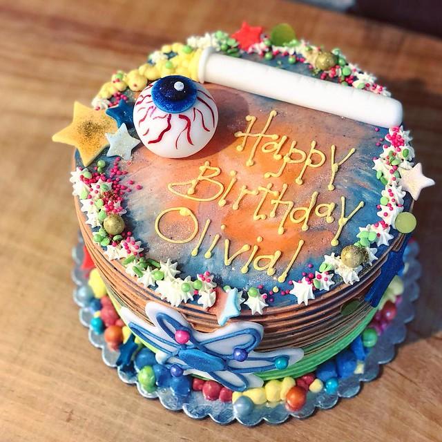 Birthday Cake by Paris Cake Company