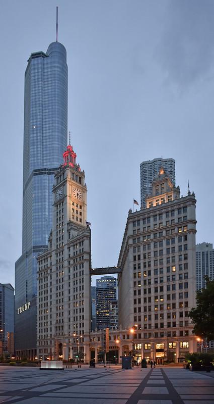 USA - Illinois - Chicago - Wrigley Building