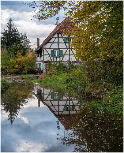 Ancien moulin à Heimersdorf