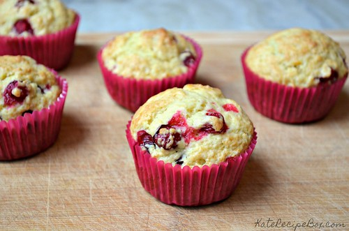 Cranberry Orange Muffins 1 | by katesrecipebox