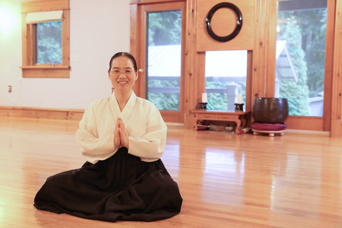 WonGong+in+the+meditation+hall,+Raleigh