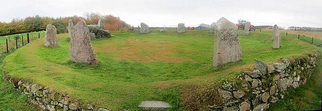 Aquhorthies Stone Circle, Aberdeenshire, Scotland, neolithic monument