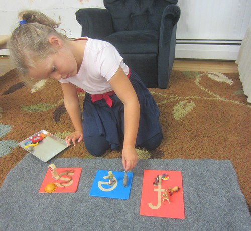 matching letter sound objects
