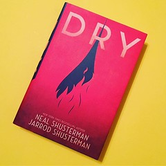#currentlyreading Dry by Neal Shusterman. I have a hard copy, but I only really have time to read with my ears, so #audiobook for the win. I can't even tell you how excited I am to start this.