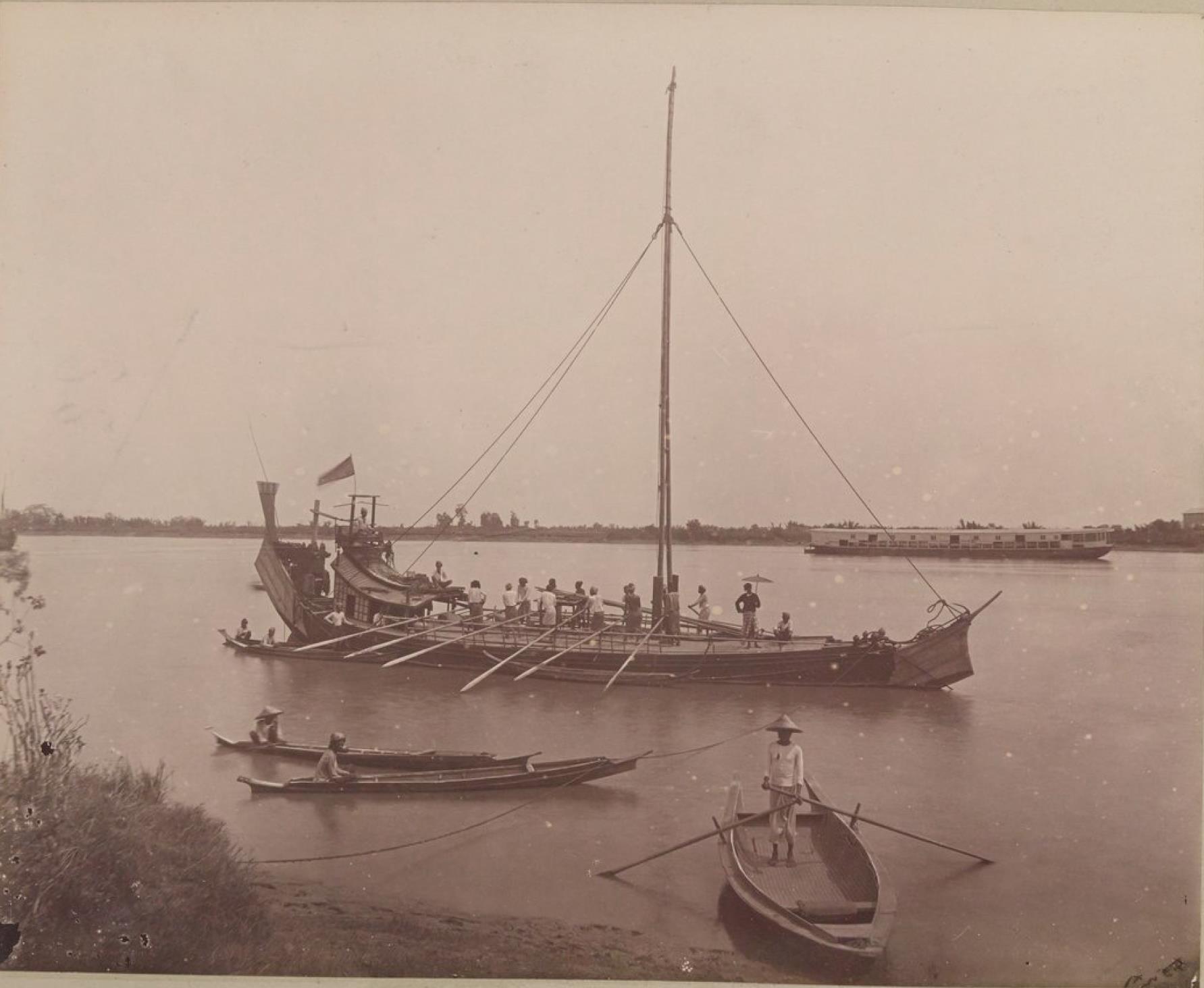 Бирманские лодки