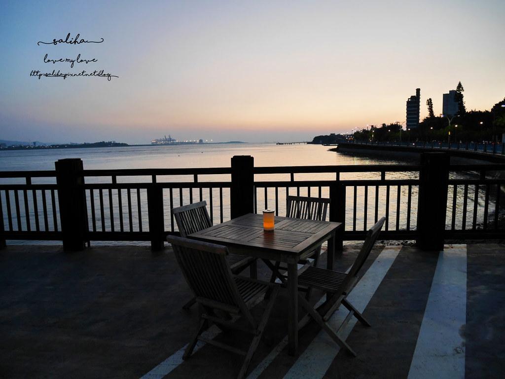 新北淡水老街夜景夕陽景觀餐廳咖啡館推薦la villa cafe (1)