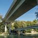 LIM200 Hardturm Railroad Bridge over the Limmat River, Zurich, Canton of Zurich, Switzerland