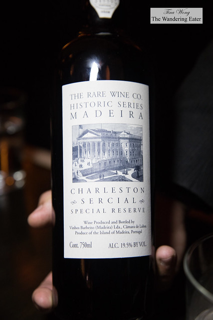 Rare Wine Co. Historic Series Madeira Charleston Sercial Special Reserve