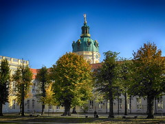 Herbstimpression am Schloss Charlottenburg