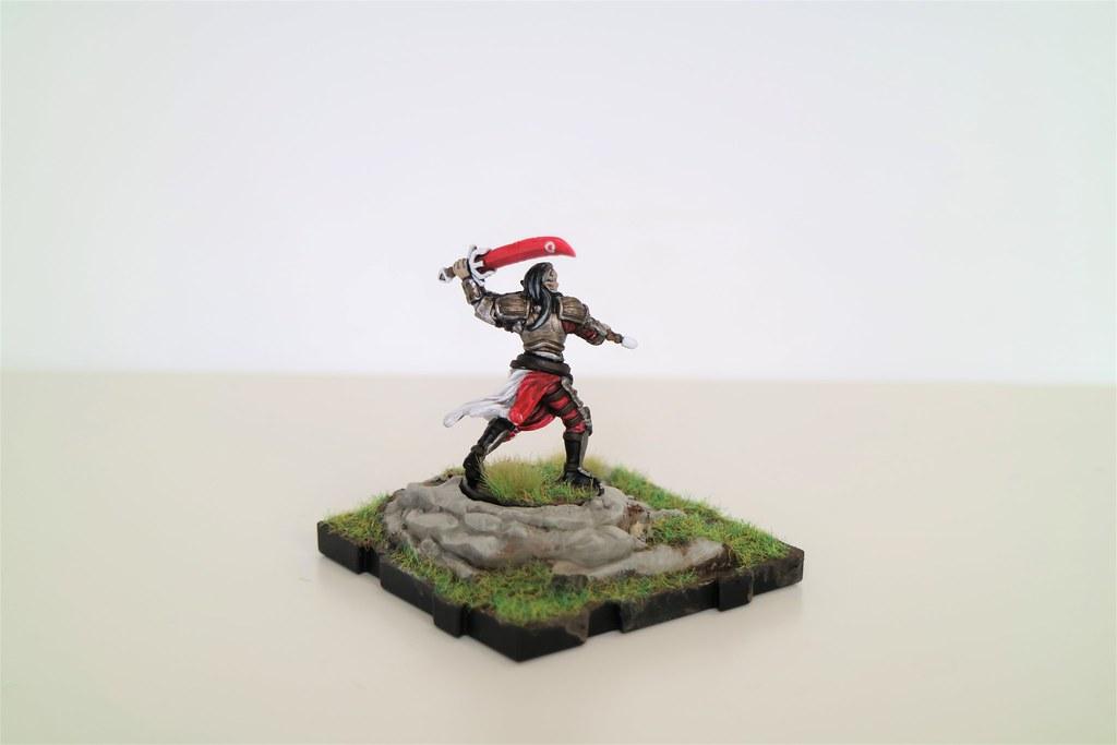 Runewars Miniatures Lord Vorun'thul Back