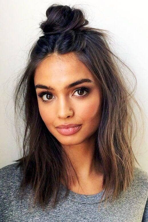 Best Adorable Bun Hairstyles 2019-Inspirations That 22