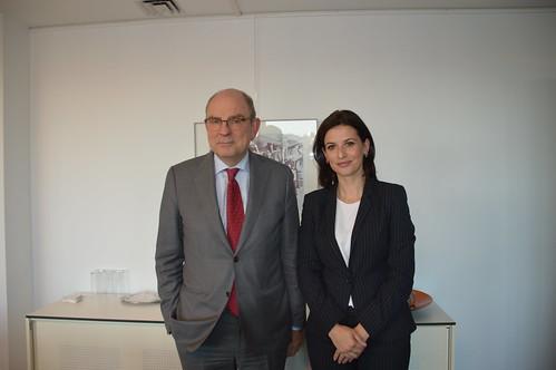 2018.09.27|ontmoeting Albanese Minister van Justitie