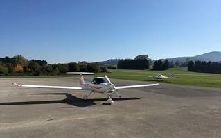 Two DAI DV20 Katanas @ LOLU (Gmunden Aerodrome)