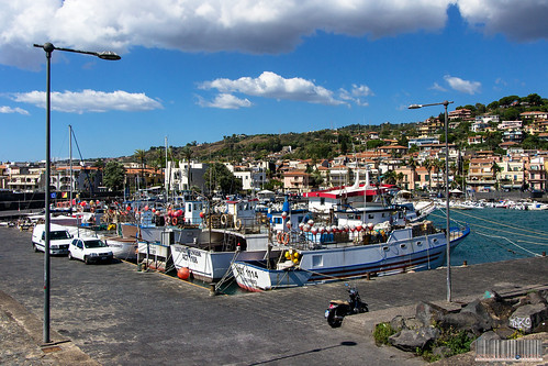 The Seaport of #AciTrezzza #Catania #Sicilia #Italia .