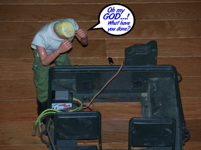 Building an RC sixth scale Jeep 31651743458_300237ed49_o