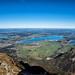 Forggensee, Bannwaldsee und Hopfensee vom Säuling by stefangruber82