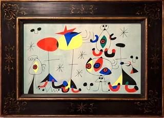 Sans titre (Soirée snob chez la princesse), Vers 1946, Joan Miró