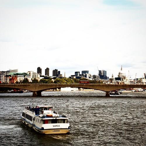 Londra: vista sul Tamigi