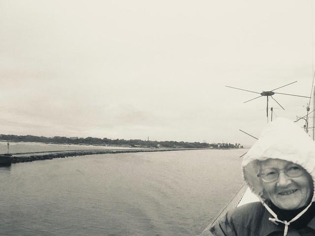 Pillau Mole, vom Schiff