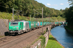 Train 40492 à Arzviller - Photo of Vieux-Lixheim