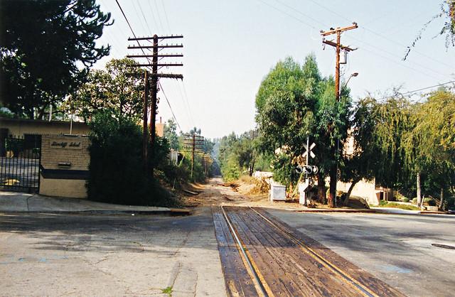 Pasadena Sub Crossing Arroyo Verde Road In South Pasadena