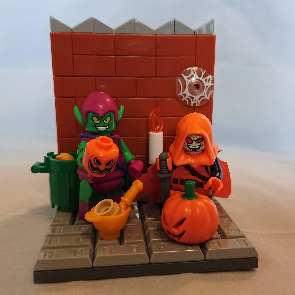 Family Time - Halloween Vignette