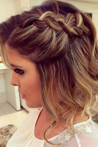 Best Prom Hairstyles For Latest Short Haircuts 2019 2