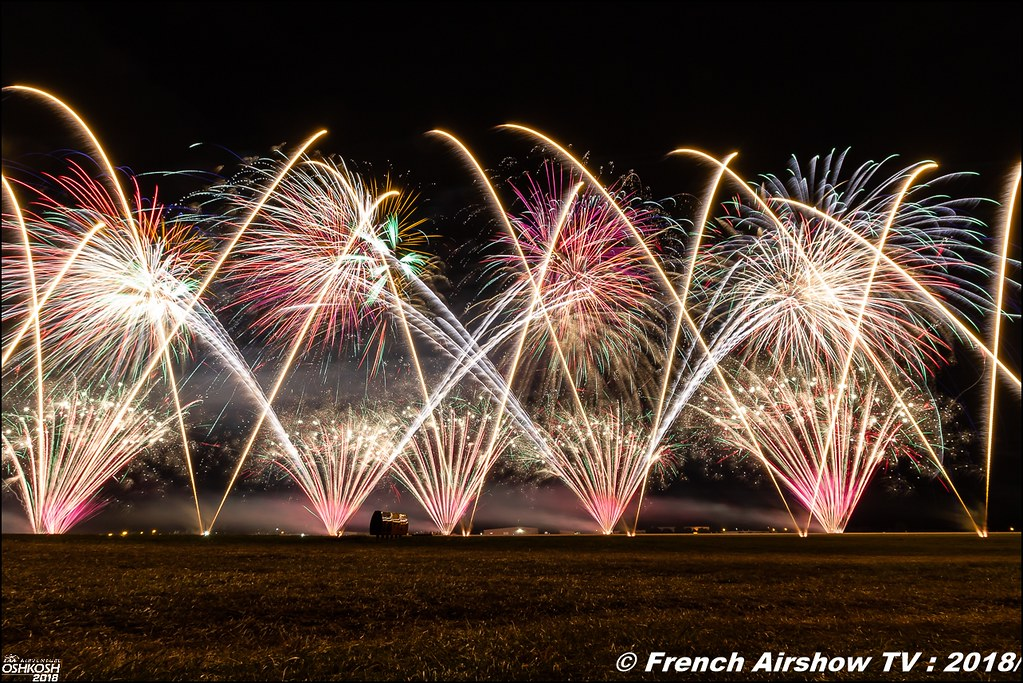 Feu d'Artifice engines and firewalls EAA Air Venture Oshkosh 2018 Wisconsin Canon Sigma France contemporary lens Meeting Aerien 2018