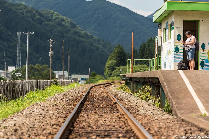 Estación de Matsuba de la línea Akita Nairiku