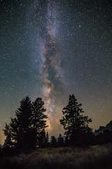 Darkness in Grand Teton